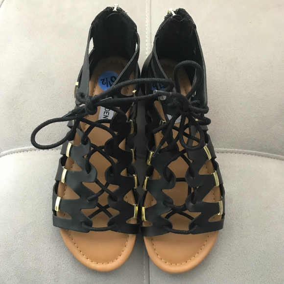 0a0d1ef4310 STEVE MADDEN Boho Glam Gladiator Sandals NIB 6.5M.  M 5aeca5ac9cc7ef068686c20a